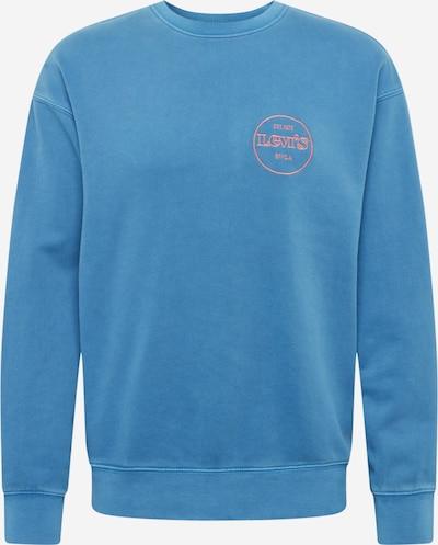 LEVI'S Mikina - nebeská modř / korálová, Produkt