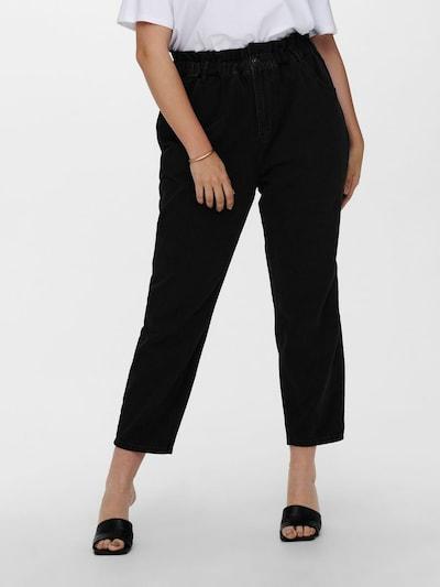 ONLY Carmakoma Jeans 'Ove' in schwarz, Modelansicht