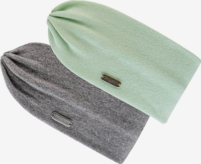 chillouts Headband 'Moa' in mottled grey / Mint, Item view