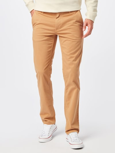BOSS Casual Hose in beige: Frontalansicht