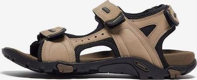 MEINDL Sandalen 'Capri' in de kleur Beige / Zwart, Productweergave