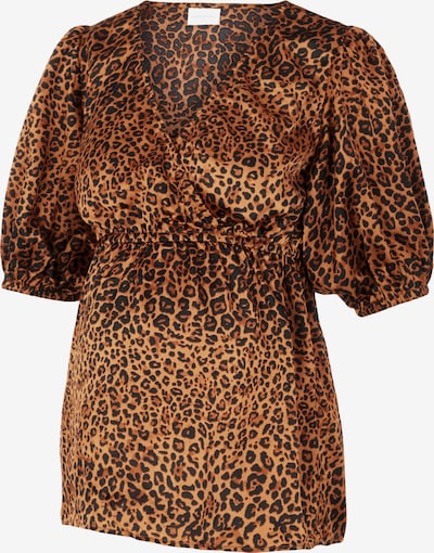 MAMALICIOUS Shirt 'Letty' in Brown / Caramel, Item view