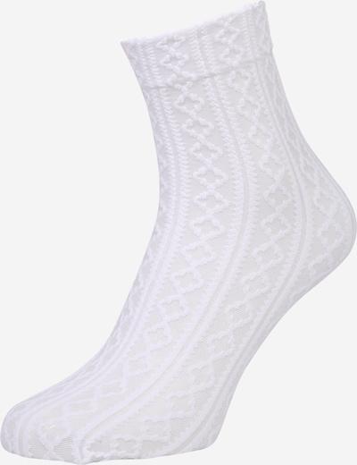 FALKE Socken 'Cake Top' in weiß, Produktansicht