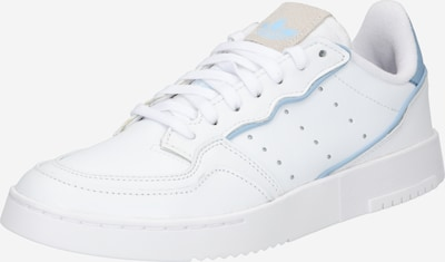 ADIDAS ORIGINALS Sneaker 'SUPERCOURT' in hellblau / weiß, Produktansicht