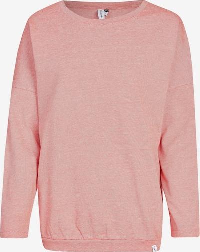 Cleptomanicx Sweatshirt Henni im lässigen Schnitt in rot, Produktansicht