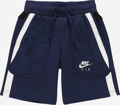 Nike Sportswear Shorts in navy / schwarz / weiß, Produktansicht