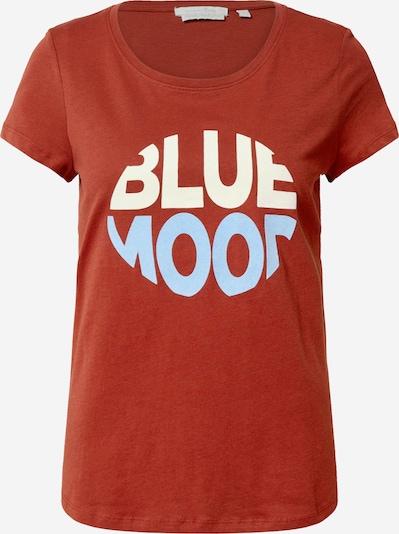 TOM TAILOR DENIM Skjorte i blå / orange / hvid: Frontvisning
