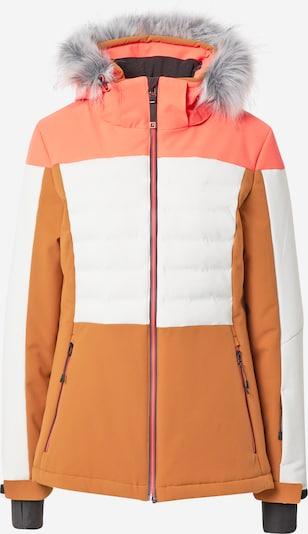 KILLTEC Sportjacke in grau / mandarine / koralle / schwarz / weiß, Produktansicht