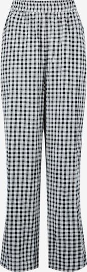 PIECES Hose 'Alma' in schwarz / weiß, Produktansicht