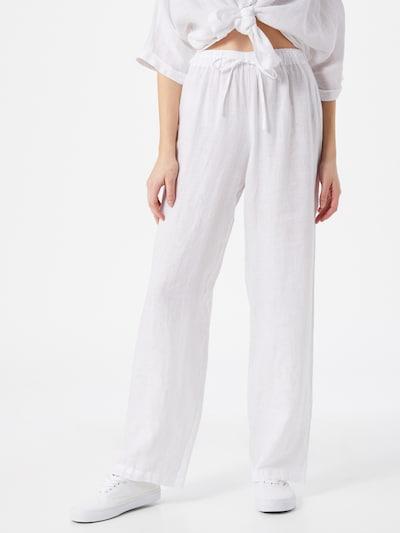 120% Lino Hose 'T0W2145' in weiß, Modelansicht