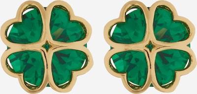 Auskarai iš Kate Spade, spalva – Auksas / žalia, Prekių apžvalga