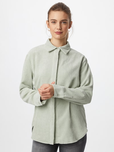 Gina Tricot Blouse 'Cory' in Pastel green, View model