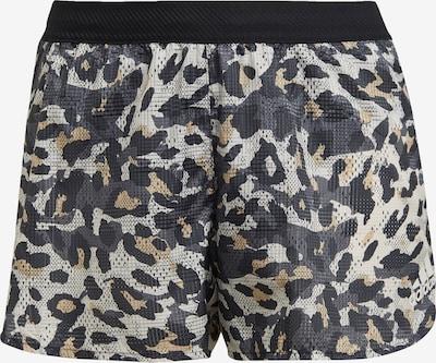 Pantaloni sport ADIDAS PERFORMANCE pe crem / bej deschis / gri deschis / gri închis / negru, Vizualizare produs