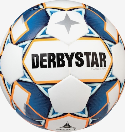 DERBYSTAR Ball in blau / weiß, Produktansicht
