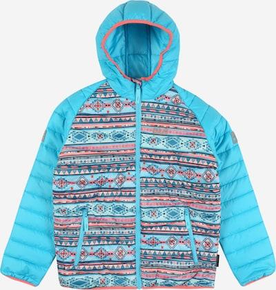 JACK WOLFSKIN Outdoorjas 'ZENON' in de kleur Turquoise / Gemengde kleuren, Productweergave