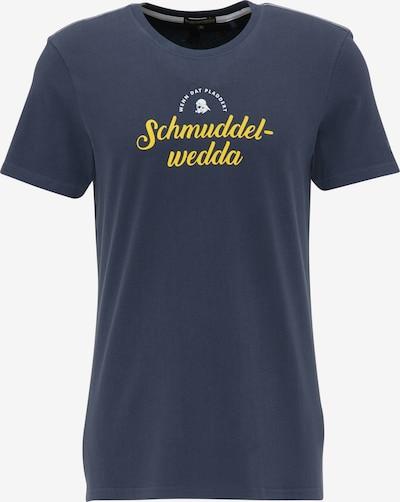 Schmuddelwedda T-Shirt in marine: Frontalansicht