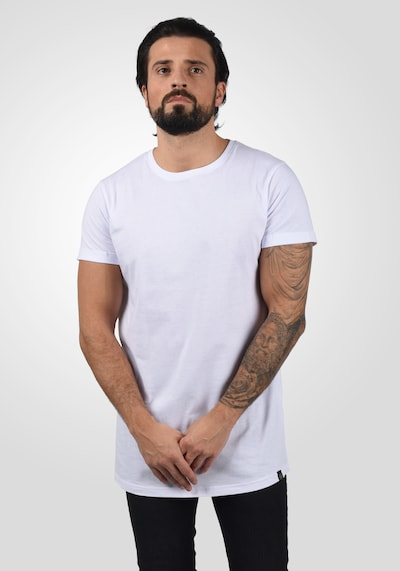!Solid T-Shirt 'Longo' in silber: Frontalansicht