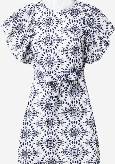 Rochie 'TANYA' OBJECT pe albastru închis / alb, Vizualizare produs