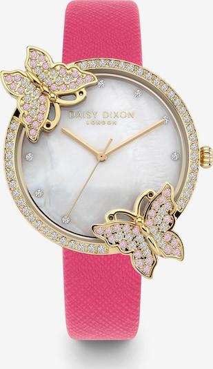 DAISY DIXON Analog Watch in Gold / Light pink / Dark pink / White, Item view