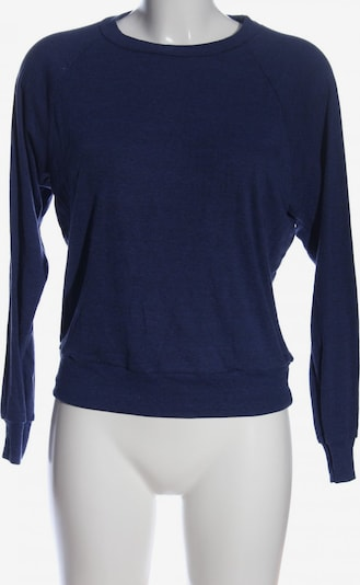 American Apparel Sweatshirt in S in blau, Produktansicht