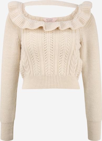Miss Selfridge Petite Sweater in Beige, Item view