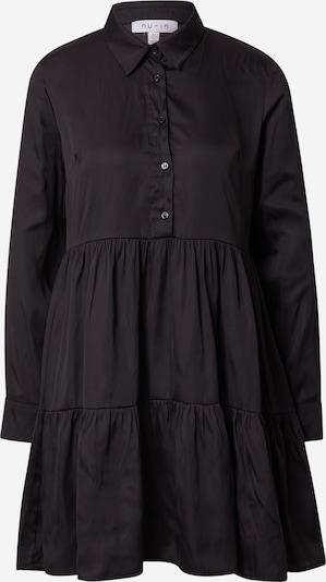 Rochie tip bluză NU-IN pe negru, Vizualizare produs