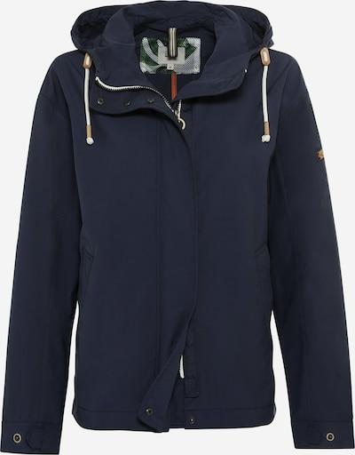 CAMEL ACTIVE Jacke in dunkelblau / hellbraun / weiß, Produktansicht