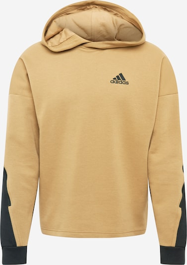 ADIDAS PERFORMANCE Camiseta deportiva 'Street Q2' en marrón claro / negro, Vista del producto