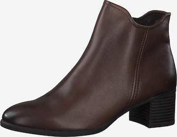 MARCO TOZZI Ankle Boots in Braun