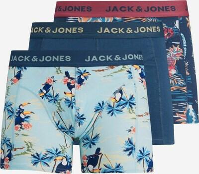 JACK & JONES Boxershorts in de kleur Navy / Lichtblauw / Gemengde kleuren, Productweergave