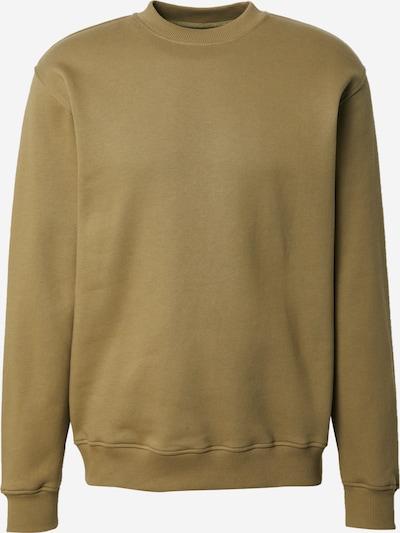 DAN FOX APPAREL Sweatshirt 'Denny' in de kleur Kaki, Productweergave