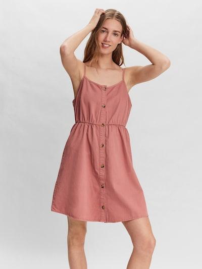 Rochie tip bluză VERO MODA pe roz pal, Vizualizare model