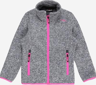 CMP Athletic Fleece Jacket in mottled grey / Light pink, Item view