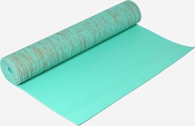 HIIT Mat in de kleur Donkerbeige / Jade groen, Productweergave