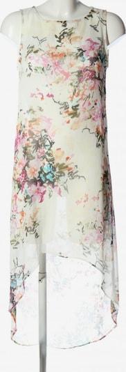 MANGO Sommerkleid in XS in khaki / pink / wollweiß, Produktansicht