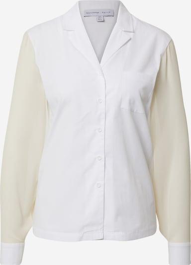 NU-IN Chemisier en beige / blanc, Vue avec produit
