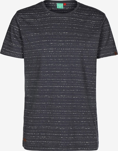 Ragwear T-Shirt 'Steef' in violettblau / weiß, Produktansicht