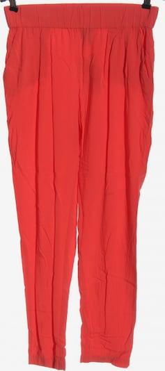 MANGO Stoffhose in M in rot, Produktansicht