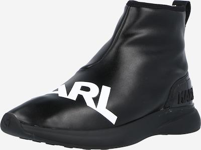 Sneaker înalt 'FINESSE' Karl Lagerfeld pe negru / alb, Vizualizare produs
