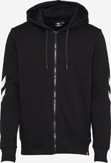 Hummel Sweatjacke 'hmlLEGACY ZIP HOODIE' in schwarz, Produktansicht