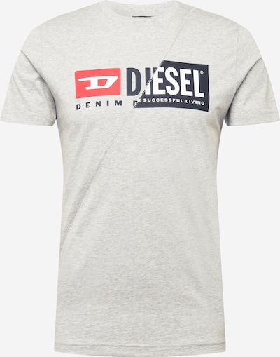 DIESEL T-Shirt en gris, Vue avec produit