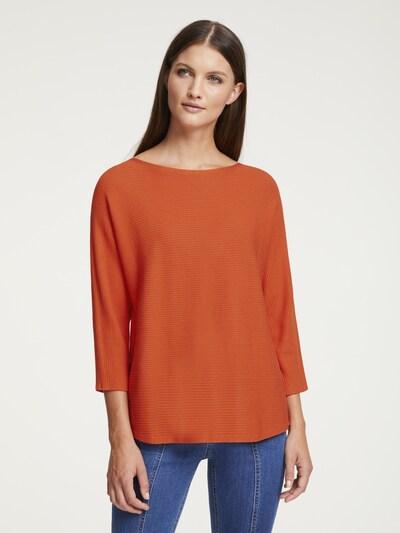 heine Pullover in orange: Frontalansicht