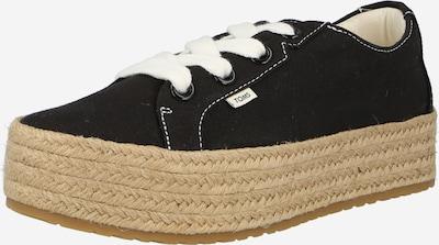 Sneaker low 'CASSIAH' TOMS pe negru, Vizualizare produs