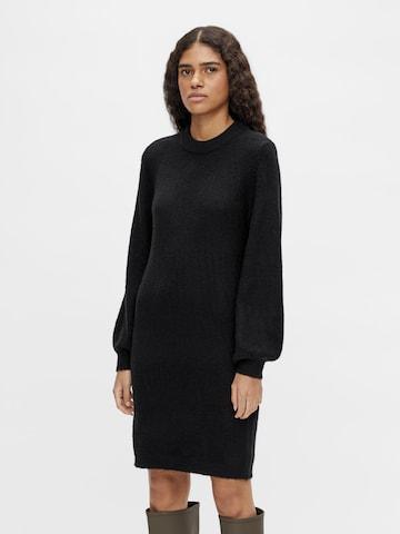Robes en maille 'Eve Nonsia' OBJECT en noir