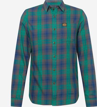 Superdry Hemd in dunkelgrün / mischfarben, Produktansicht