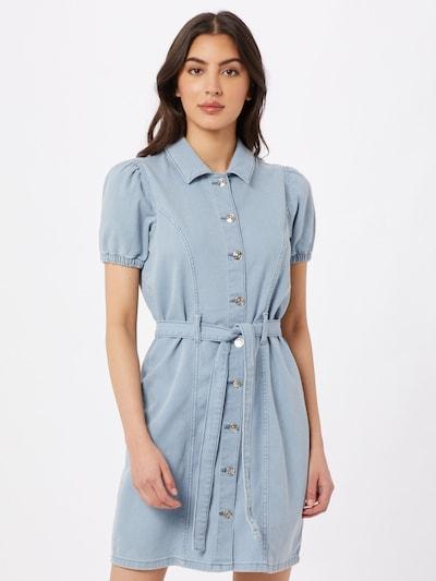 ONLY Robe 'Vibbe' en bleu clair, Vue avec modèle
