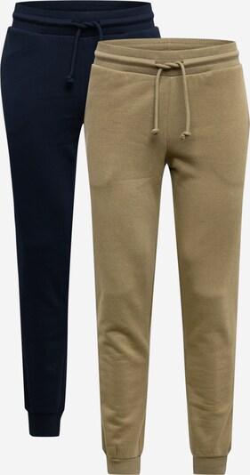 JACK & JONES Pantalon en bleu marine / olive, Vue avec produit