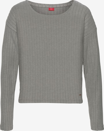 s.Oliver Shirt in Grey