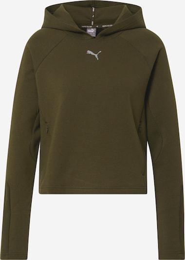 PUMA Sweatshirt in dunkelgrün, Produktansicht