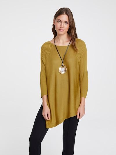 heine Pullover in senf, Modelansicht